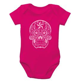 57f600a110ce1 Body Caveira Mexicana - Roupas de Bebê no Mercado Livre Brasil
