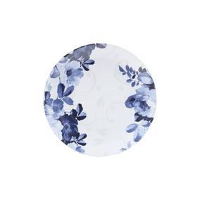 Jogo 6 Pratos De Jantar De Porcelana 27cm Eden Bleu