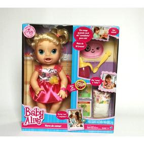 Boneca Baby Alive Hora De Comer Loira Hasbro