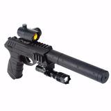 Pistola Co2 Gamo P-25 Tac Blowback+ac. Cal.4.5 -japón