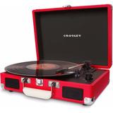 Tocadiscos Crosley Cruiser Rojo (¡más Colores Y Diseños!)