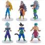 Dragon Ball Figuras Gashapones Set 6 Personajes (saga Af)