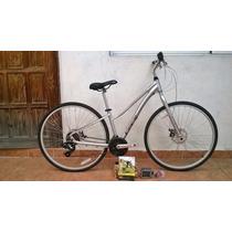 Bicicleta Gt Nomad 3.0 700c Hybrida Aluminio Dama