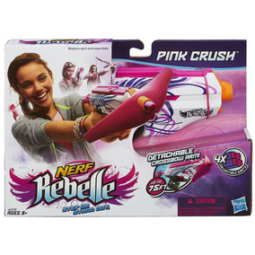 Nerf Rebelle Pink Crush Jugueteria Bunny Toys