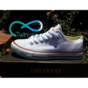 Zapatos Converse Blanco Importados Nuevos 2017