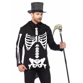 Disfraz Tuxedo Esqueleto 85601 Calavera Halloween Cosplay