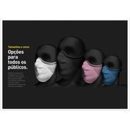 Máscara De Proteção Profissional 3d Knit (não Descartável)