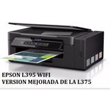 Epson L395 Mf Tinta Cont Original Wifi Ult Version 12 Pagos