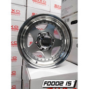 Rines 15 5/120 Progresivo Chevrolet S10 (4 Rines)