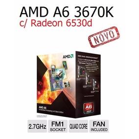 Processador Amd A6-3670k Quad Core Socket Fm1 Novo Na Caixa