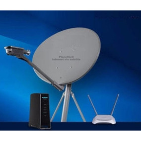 Internet Via Satelite - Brinde Um Roteador