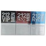 Carolina Herrera 212 Hombres New York Píldoras Gift Set 0.7