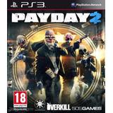 Payday 2 Ps3 Fisico Sellado Original Ade