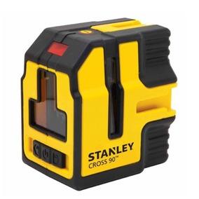 Nivel Laser Stanley Cross 90° Autoniv. 3 Lineas 15m 77341