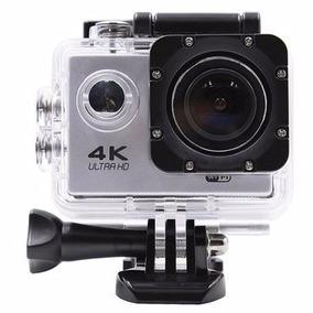 Câmera Filmadora Ação 4k Capacete Moto Bike Wifi +acessorios