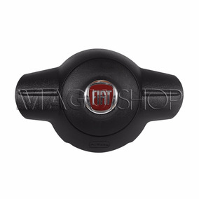 Tampa Buzina Com Airbag Volante Fiat Uno Way / Vivace