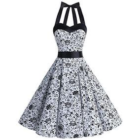 Vestidos Vintage 1950 Años Rockabilly Lunares Audrey Vestid
