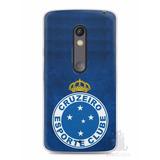 Capa Capinha Celular Motorola Moto X Play Time Cruzeiro #3