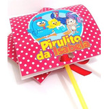 Capa Personalizada P/ Pirulito Qualquer Tema Kit C/ 30 Unid