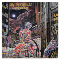 Disco De Vinil Iron Maiden - Raro - Somewhere In Time - Raro