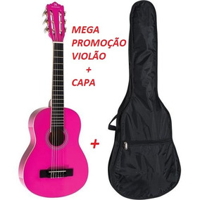 Kit Violão Rosa Tagima Memphis Ac39 Pink + Nf + Frete Gratis