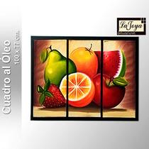 Cuadro Al Óleo - Frutas - Abstractos