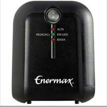 Estabilizador Enermax Exs Ii Power T 1000va Bivolt Preto
