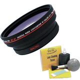 Digital Video .5x 72mm Lente Gran Angular Para Canon Xh...