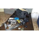 Canon Eos 300d + Lente + Accesorios
