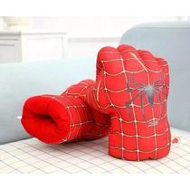 2 Luvas Do Homem Aranha Avengers Espuma Muito Real