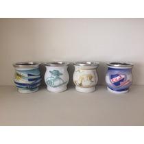 Mate Ceramica Motivos Uruguay Y Nacional