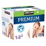 Pañales Premium Kirkland 150 Pzas Hasta 8 Kilos Etapa 1 Y 2