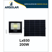 Reflectores Led Solares 200w