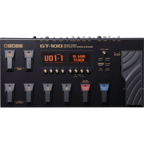Pedaleira Boss Gt100 Para Guitarra Gt 100 Nf E Garantia