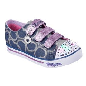 Twinkle Toes Zapatillas Skechers Con Luces Levhe Importados