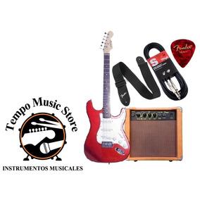 Combo Especial Guitarra +amplificador +cable +correa +pua