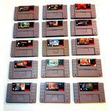Juegos Para Super Nintendo Originales Venta O Cambio