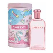 Perfume Para Chicas Cheeky Pretty Girl X100 Ml + Lata Local