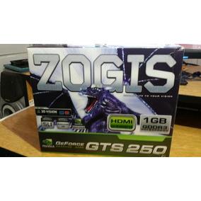 Placa De Video Gts 250 Zogis Com Defeito Na Saída De Vídeo