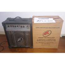 Caixa Amplificadora De Som Multi-uso Lx60 15 Watts