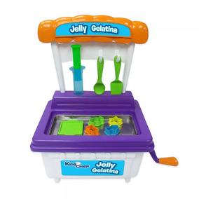 Maquina Jelly Gelatina Kids Chef Multikids Br538 Brinquedo
