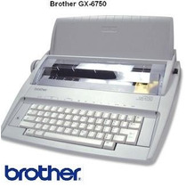 Máquina De Escribir Electrica Brother Gx6750sp