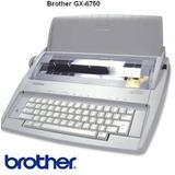 Máquina De Escribir Electrica Brother Gx6750sp
