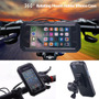 Para Iphone 6s 7 Plus Impermeable Moto Bicicleta Manillar