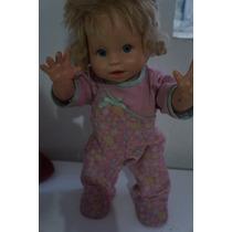 Boneca Little Momy Primeiros Passos R$70,00 + Frete