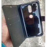 Capa Capinha Carteira Smartphone Moto G4 G4 Plus Couro Flip
