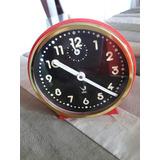 Reloj Despertador Frances Cuerda Años 70 Funcionando Jaz