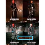 Avengers Captain America Red Skull Hot Toys Hottoys 1/6
