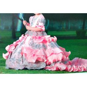 Remate Vestido Niña Reina Paje Presentacion