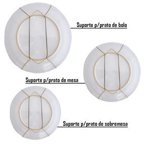Suporte/gancho Com Mola Pratos Decorativos Pendurar Parede